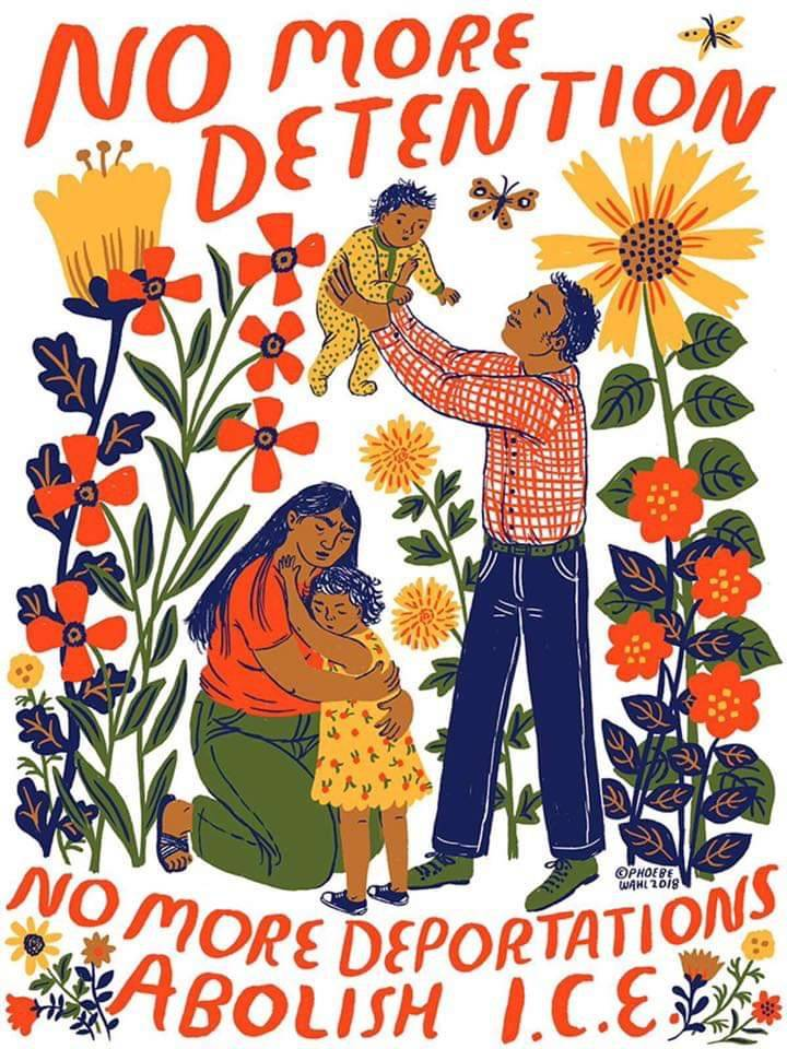 Brooklyn Community Gardens Protest against Trump's Immigration Policies
