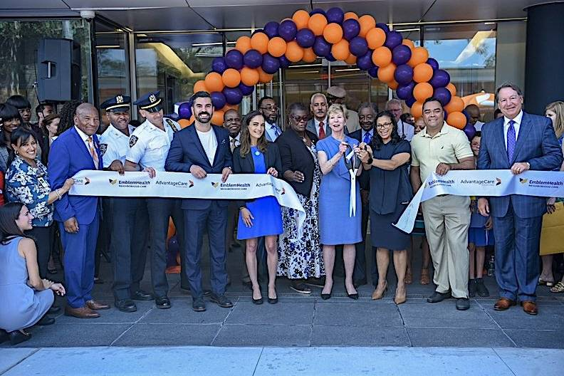 A new a 75,000-square-foot health hub opened its doors on Wednesday in East New York.