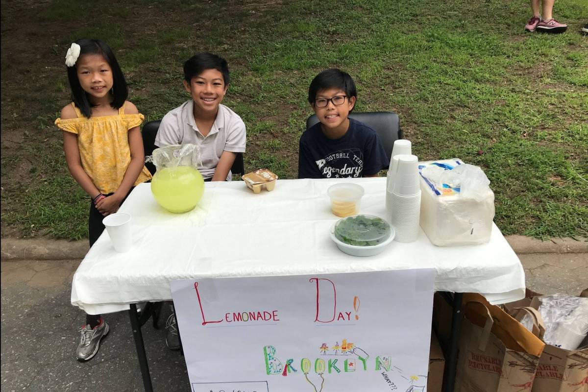 Lemonade Day walks youth from a dream to a business planand gives them the skills to start acompany.