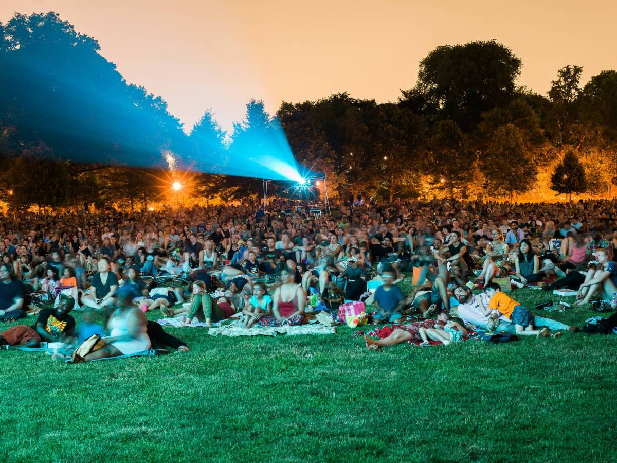 Brooklyn's backyard will be the setting for free outdoor movies every Wednesday in July