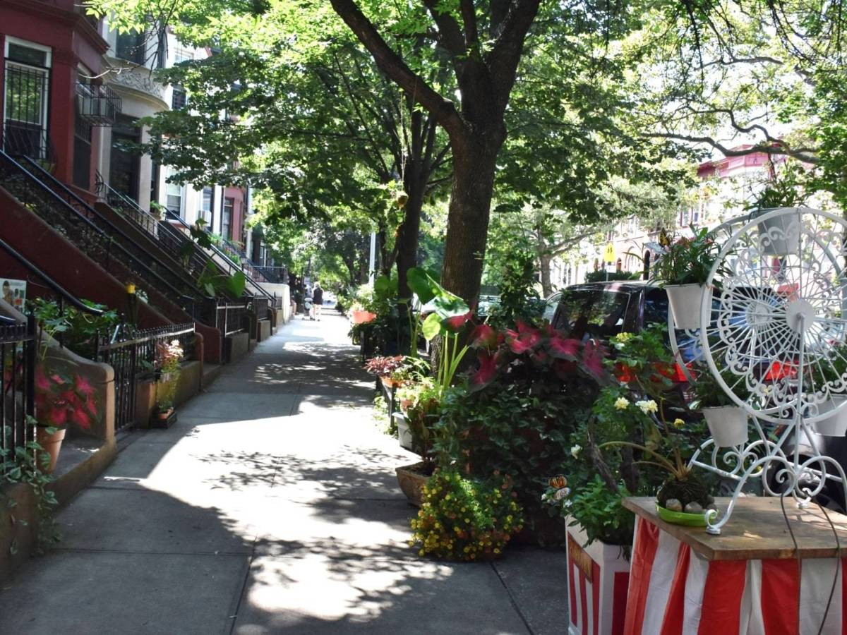 Brooklyn Botanic Garden named the residents of Lincoln Place between Nostrand and New York Avenues as the winners of the Greenest Block in Brooklyn Contest.