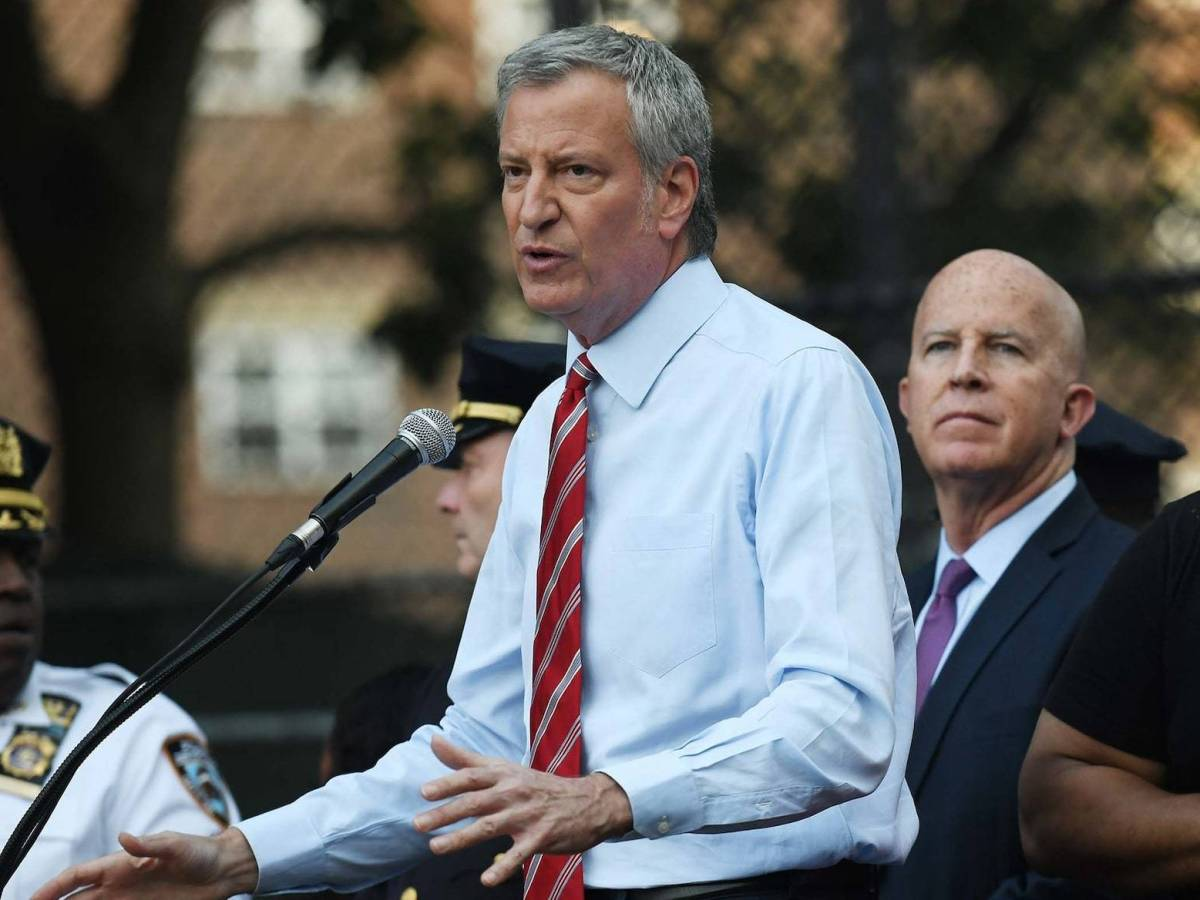 Following the Brownsville mass shooting a week ago, Mayor Bill de Blasio pledged on Tuesday nearly $9 million in funding in support of the local community.