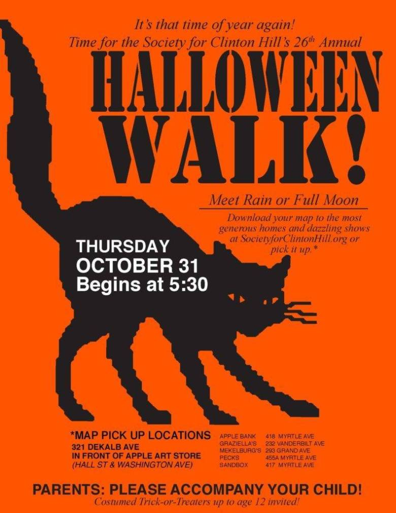 Halloween in Brooklyn, 2019, Things to Do, Halloween Guide, Halloween Routes