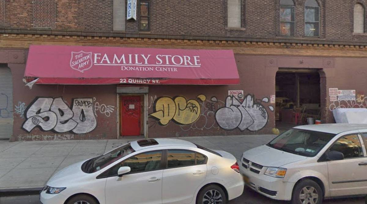 Salvation Army, closing, Clinton Hill, thrift store, real estate