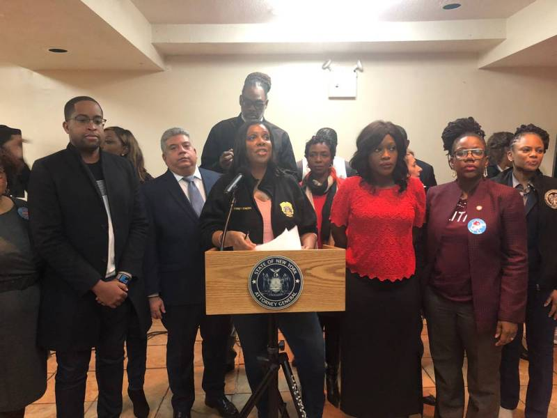 The Secure Deed Act, Yvette Clarke, Robert Cornegy, Eric Gonzalez, Letitia James, Third Party Transfer, deed theft, deed fraud, press conference