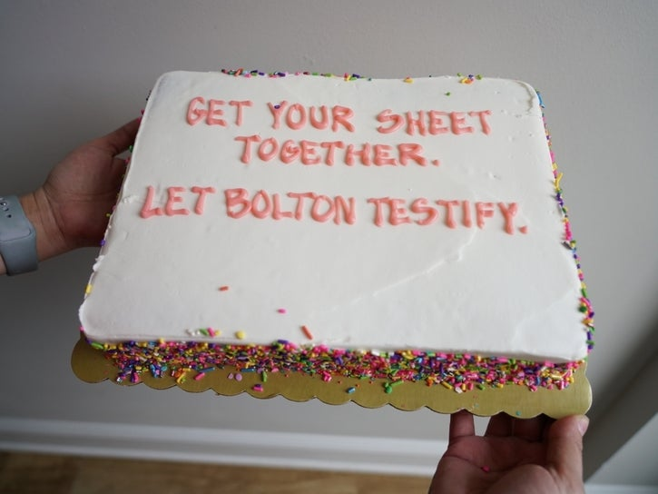 Brooklyn Cakes To Senate: Get Your Sheet Together
