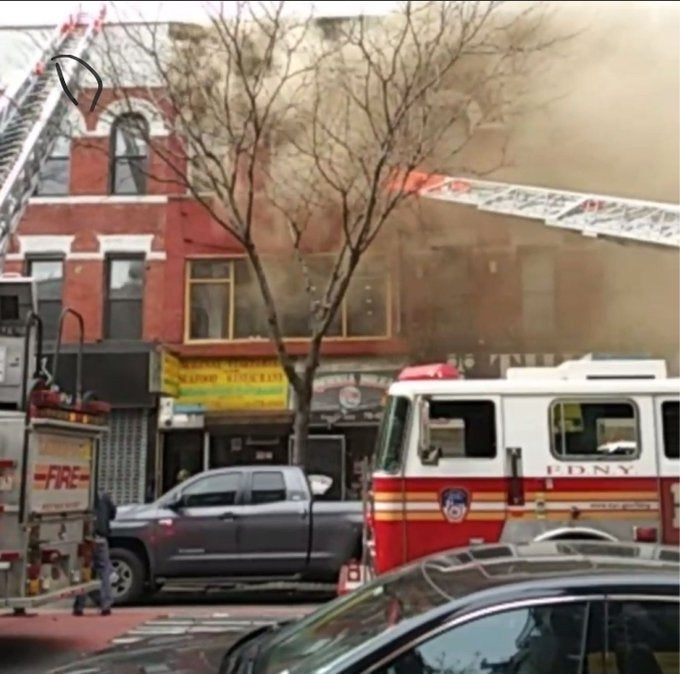 Fire Erupts In Crown Heights Building: FDNY