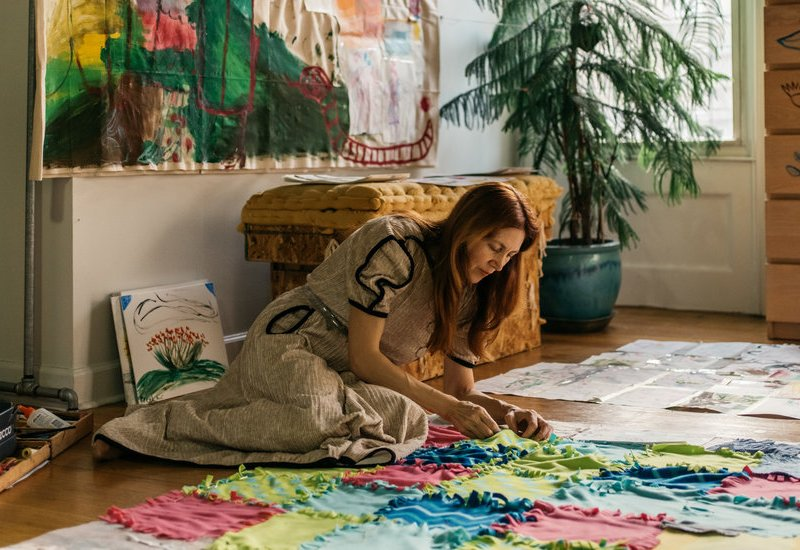 An Artist Who Collaborates With Her 11-Year-Old Daughter