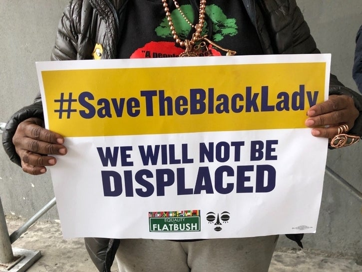 Tax Lien Is Costing Crown Heights Its Black Heritage: Protesters