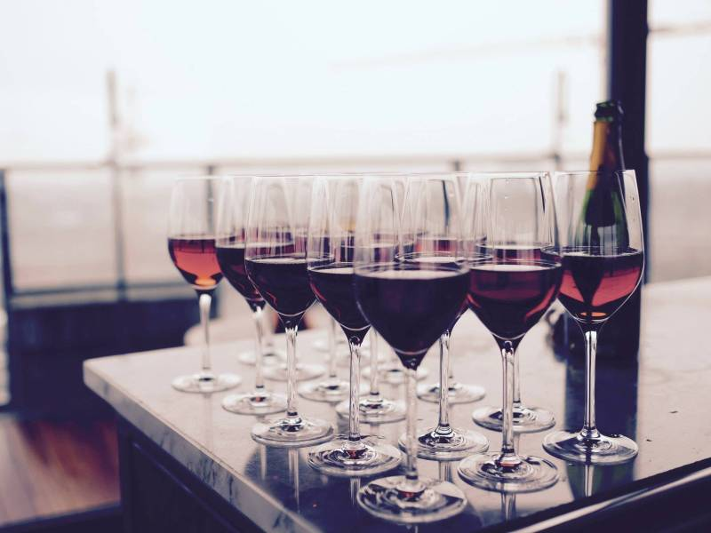 June Wine Bar, Red Hook Winery, Roberta's Pizza, Vanguard Wine Bar, Have and Meyer Chetteria, Wineries, The Top, The Best, The Four Horsemen, Rooftop Reds, Ruffian Wine Bar and Chef's Table, Sokolin's Dom Perignon, New York City