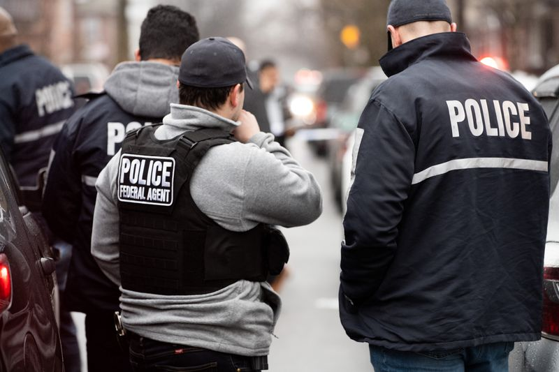 ICE agents storm Brooklyn restaurant and douse detainee with pepper spray