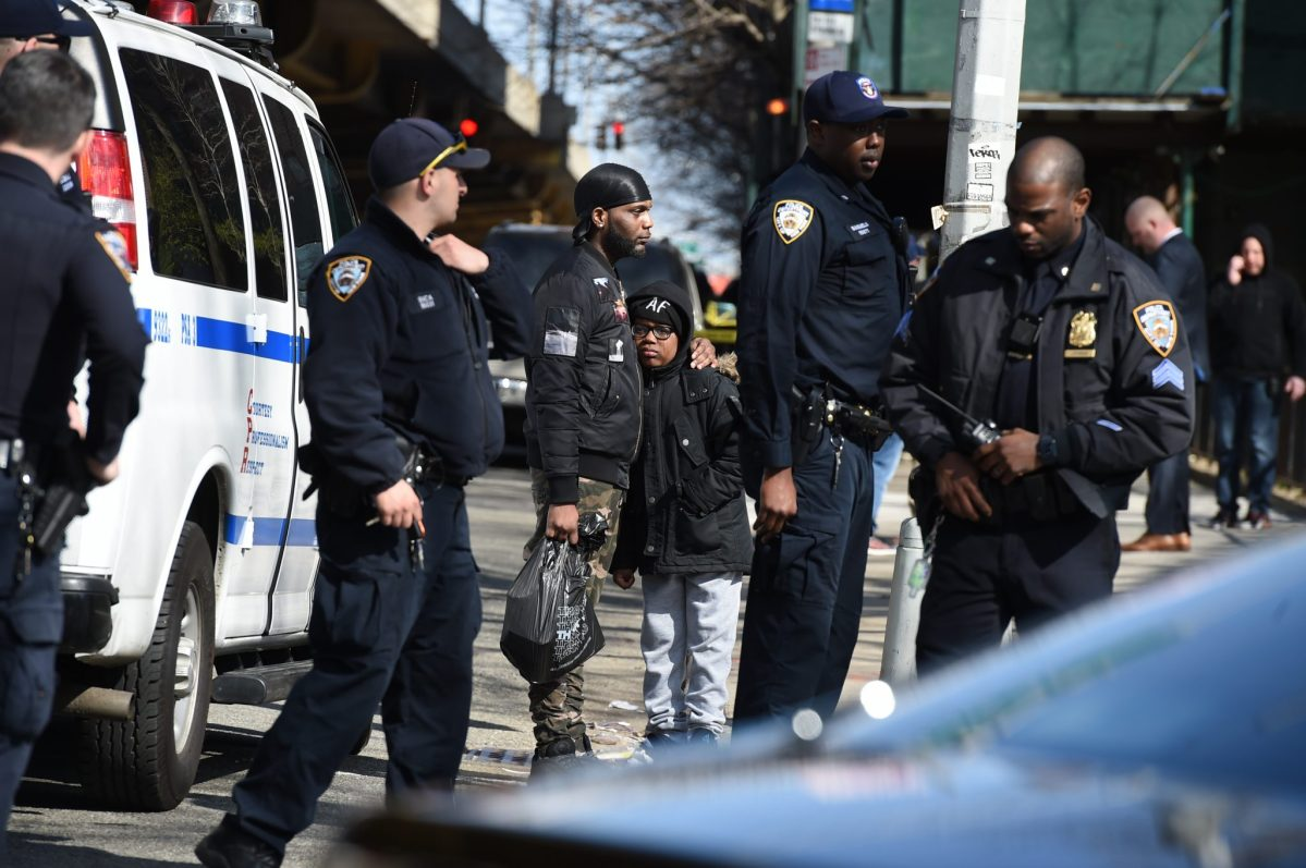 Cops looking for armed suspect who shot two on Brooklyn street