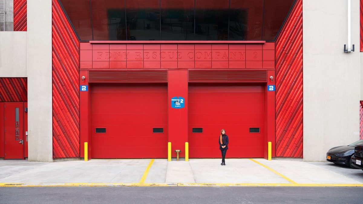 Inside Studio Gang's Latest Project, a Brooklyn Firehouse and Training Facility