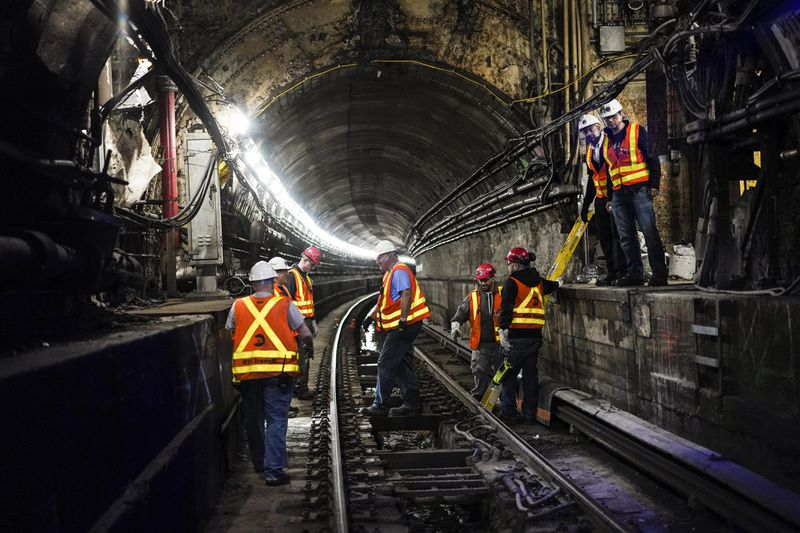 MTA has finished repair work on Hurricane Sandy-damaged L train tunnel
