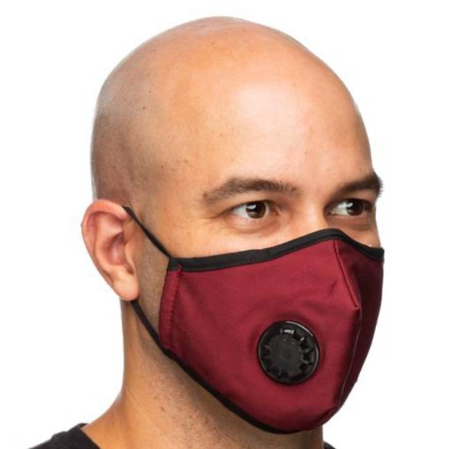 Debrief Me filtration mask lasts up to five years. Photo: Debrief Me website.