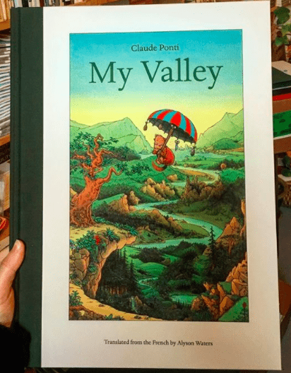 My Valley published by Brooklyn publisher, Elsewhere Editions. Photo: Emma Raddatz.