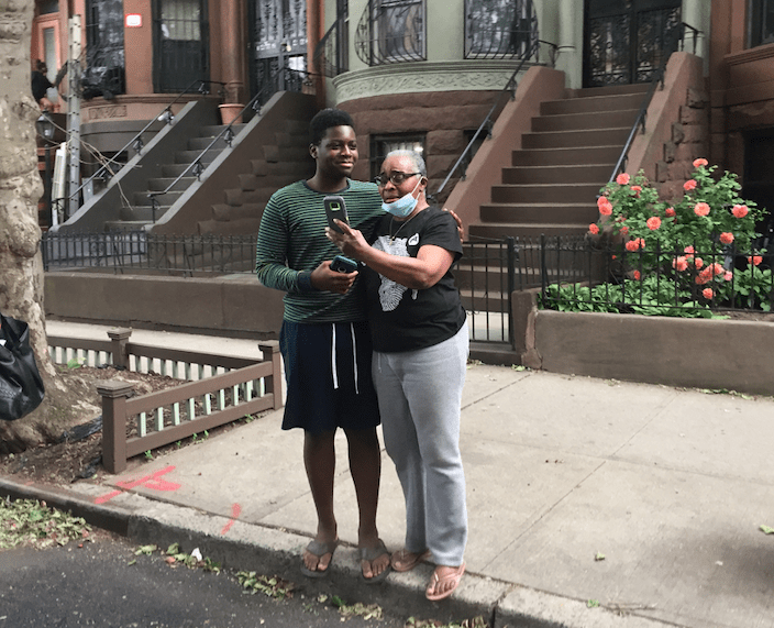 George Floyd protest Bed-Stuy