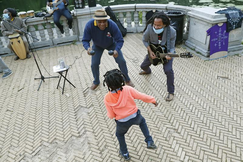 Finding Joy in a Brooklyn Outdoor Dance Party