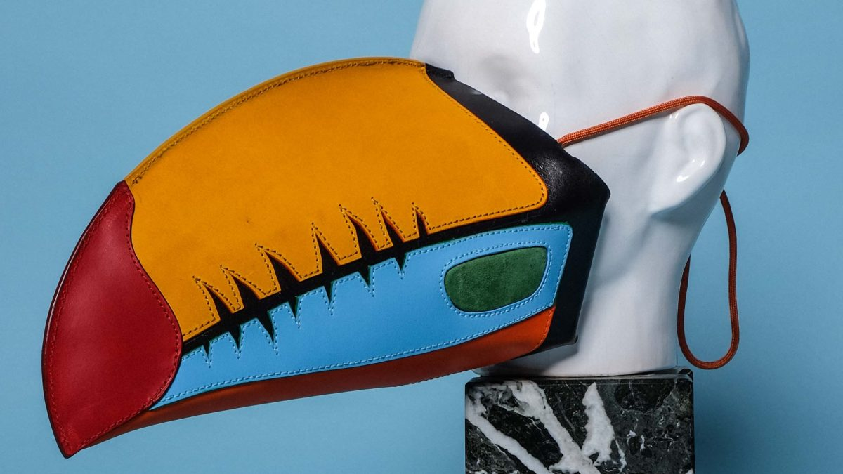 Plague Doctor Meets Bird of Paradise: Thomas Finney Is Making the Wildest Masks We've Seen Yet
