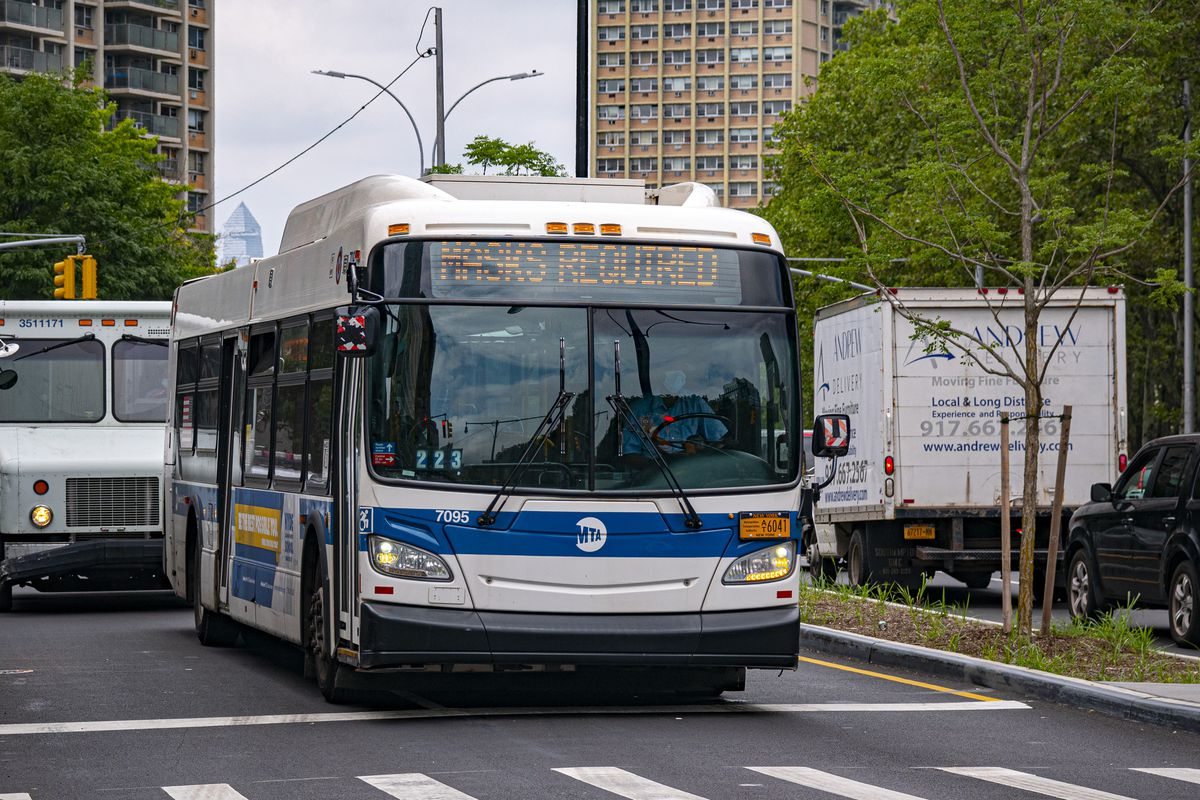 Brooklyn Bus Driver Describes Beating Over Mask Rule as Attacks on Transit Workers Surge