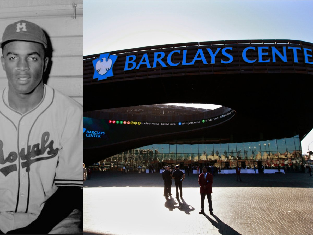 Locals push to rename Barclays Center after Jackie Robinson