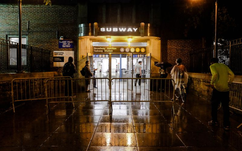 NYC early-shift workers stranded by subway's nightly closures for COVID cleanings — empty trains still run, but they can't ride them