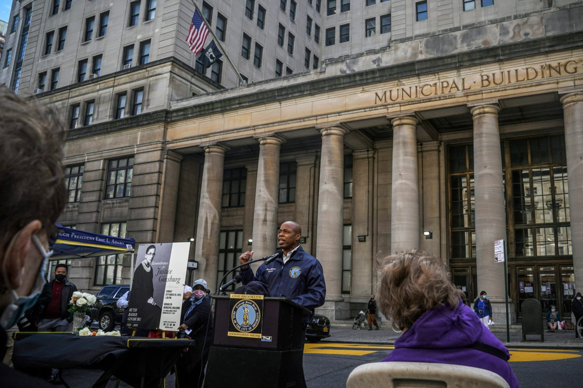 Brooklyn civic building to be named after Justice Ginsburg following two-year push by BP Adams