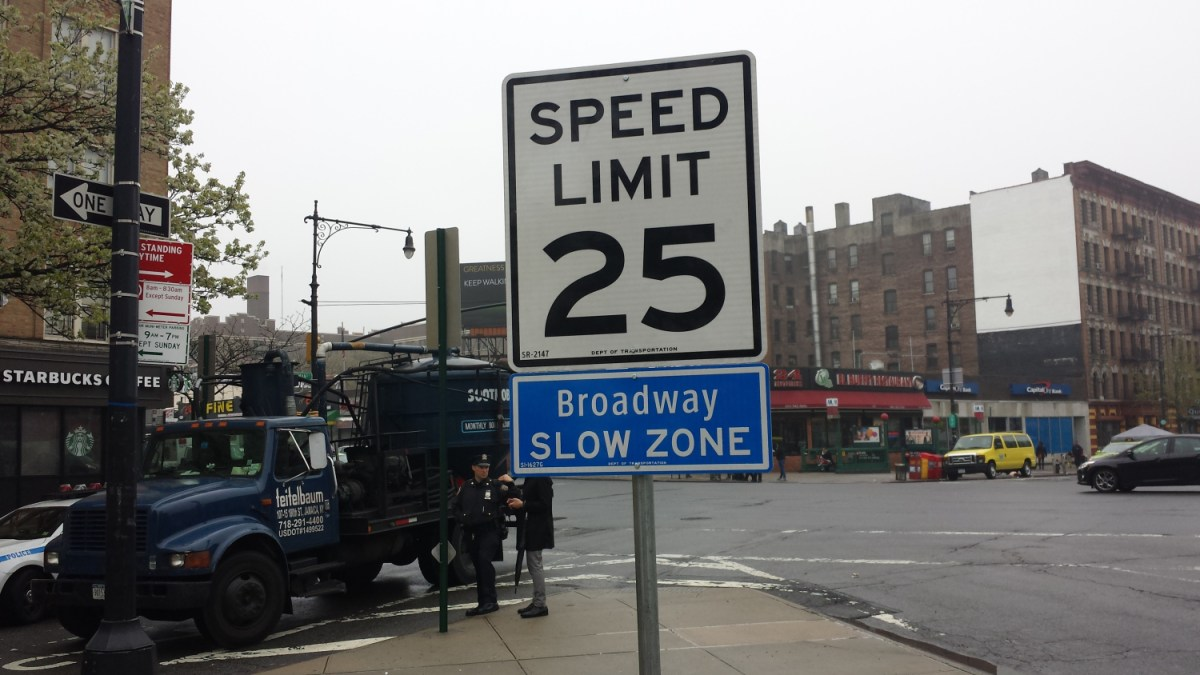 NYC Lowering Speed Limit On Key Streets After Increase In Motor Vehicle Deaths