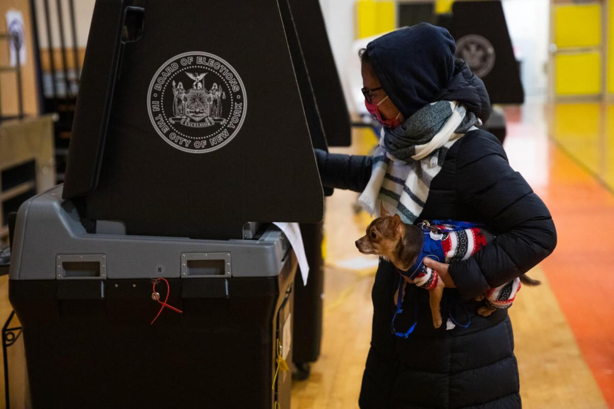 How did Brooklyn vote in the presidential election? A breakdown