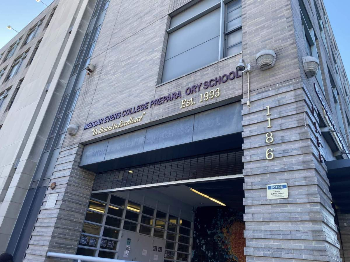 Medgar Evers College Prep to get 'world class' new school building