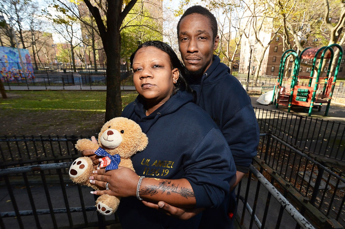 Couple says NYC hospital lost remains of their stillborn child