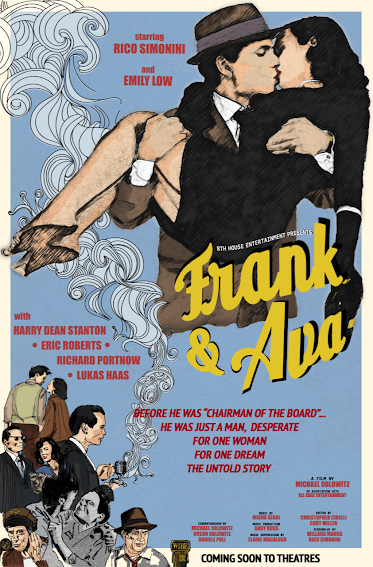 The movie poster for Frank and Ava. Photo: supplied.