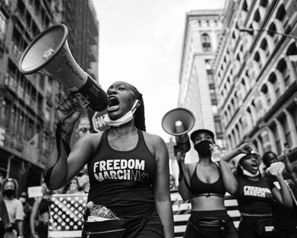 Freedom March NYC; COVID-19; Black Lives Matter; Chelsea Miller
