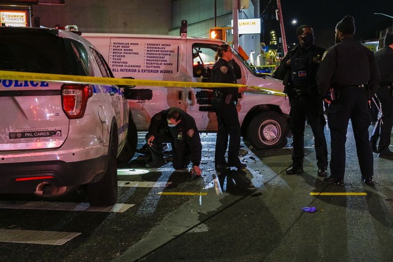 Assault charges for man shot in leg by NYPD after cops say he drove driving stolen van at Brooklyn officers