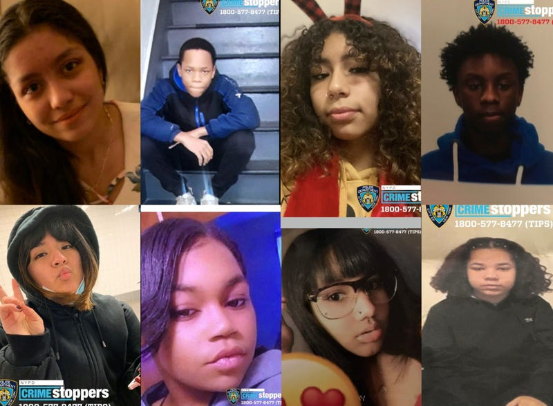 8 MISSING NYC TEENS: NYPD searching for these Brooklyn, Bronx teens not seen in days