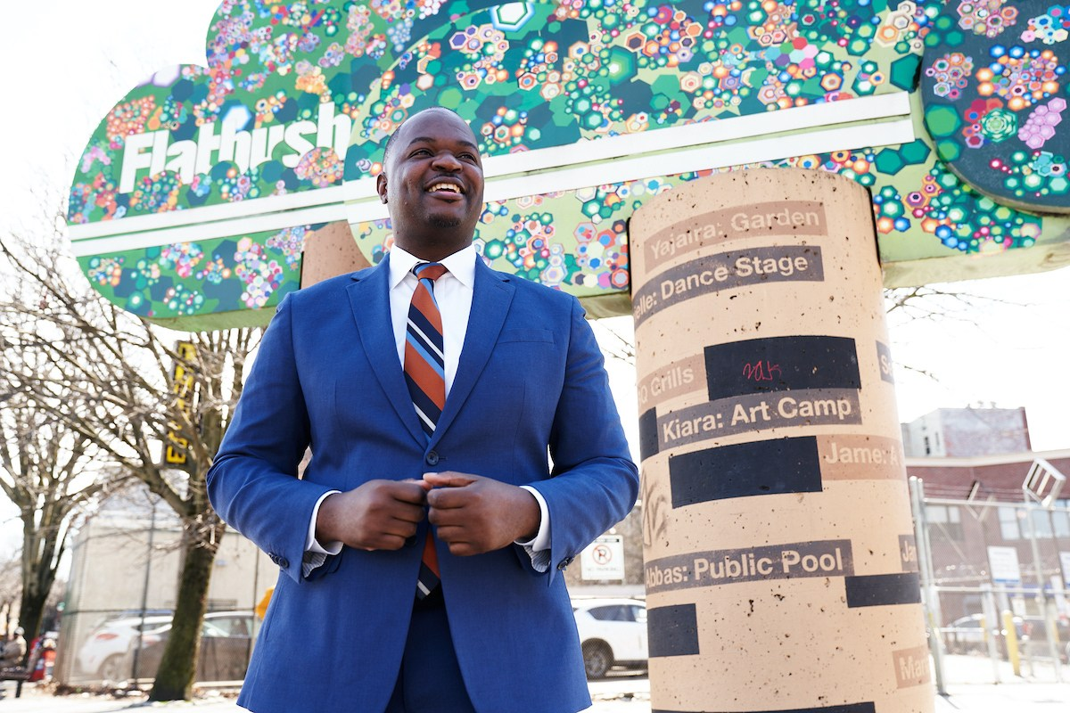 Pierre Brings Rounded Experience to Flatbush City Council Race