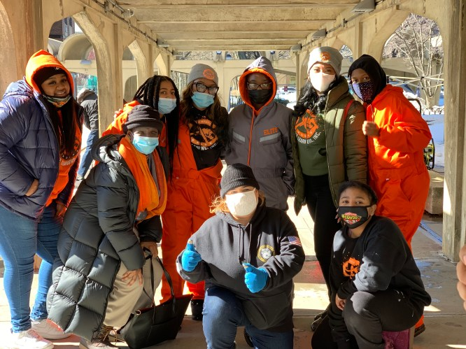 Darma Diaz and Elite Learners Cleanup Brownsville