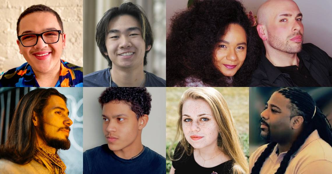 Songwriters from Carnegie Hall's Voices of Hope online festival. Photo Credit: Supplied.