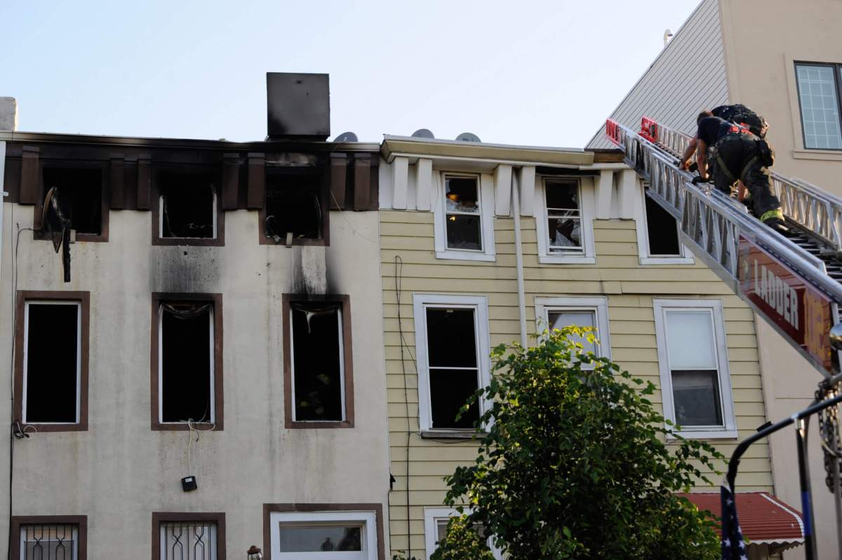 Resident dead after two-alarm fire rips through Bed-Stuy home