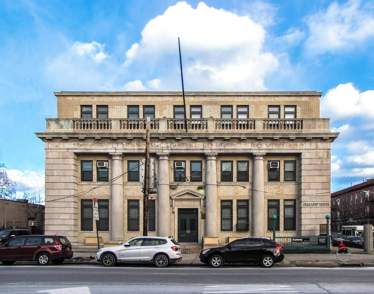 Magistrate's Court Building in ENY