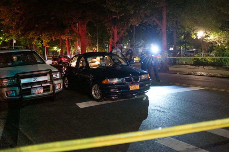 Woman, 73, pushing cart filled with cans fatally struck by BMW in Brooklyn