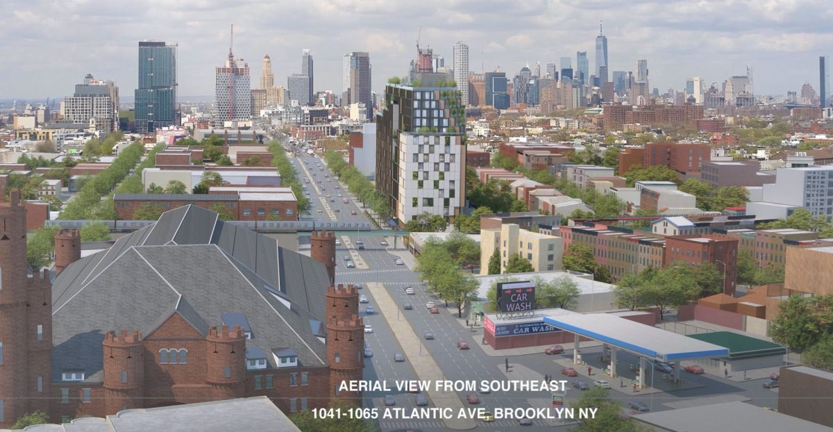 Another 17-Story Building Proposed for Atlantic Avenue, Near Franklin Ave. Shuttle, This Time in CB 3