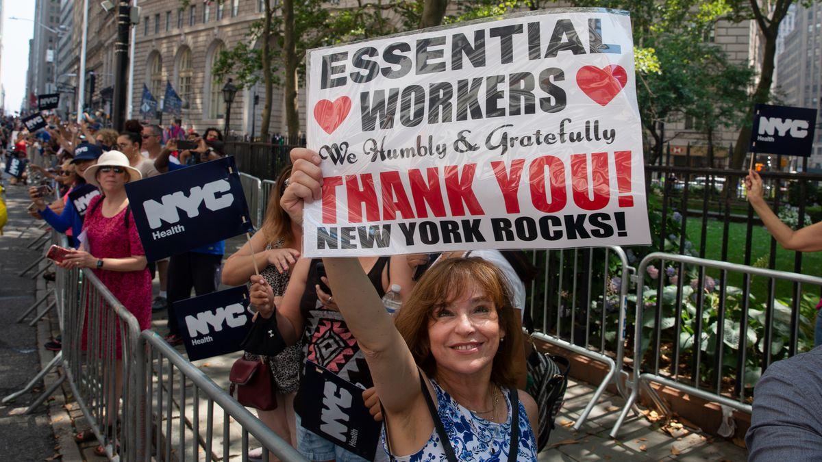 NYC Celebrates Hope and Perseverance With 'Hometown Heroes' Parade