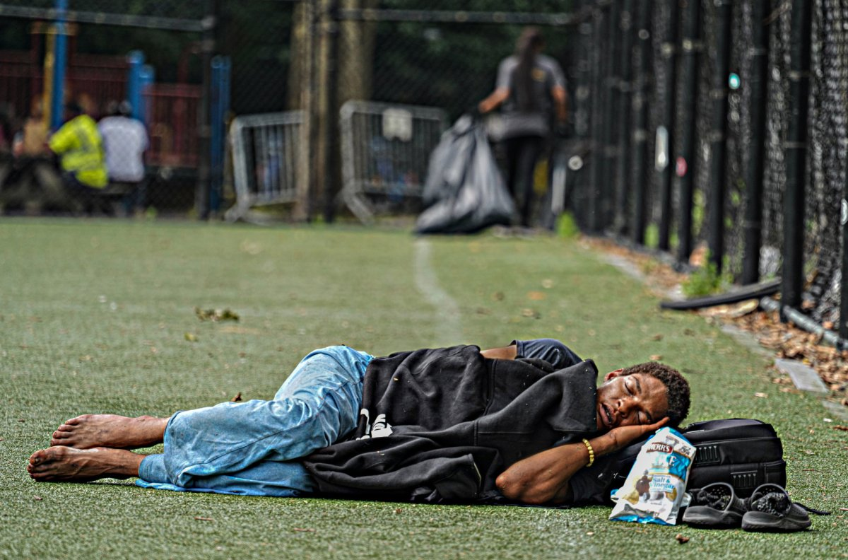 The forgotten New Yorkers: Looking for hope among a homeless haven in this Lower East Side park