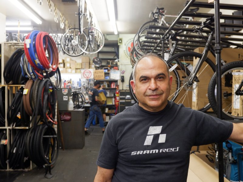 Bikes still flying off the racks in NYC as cycling numbers remain high