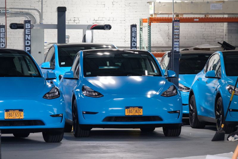 NYC approves Revel's fleet of Tesla taxis, bringing new competition to apps