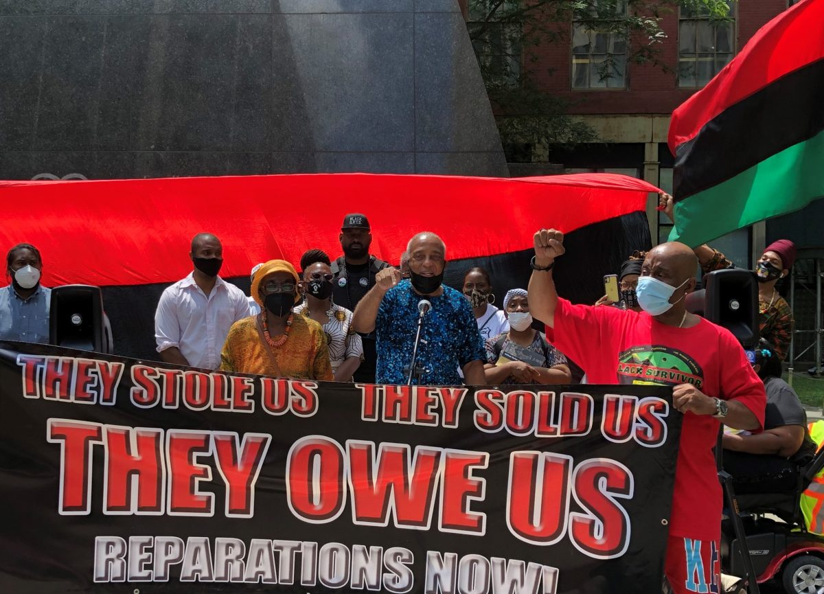Reparations Rally