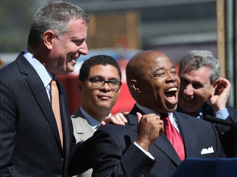 Ending de Blasio's cold war: Corporate NYC sees hope in an Eric Adams mayoralty