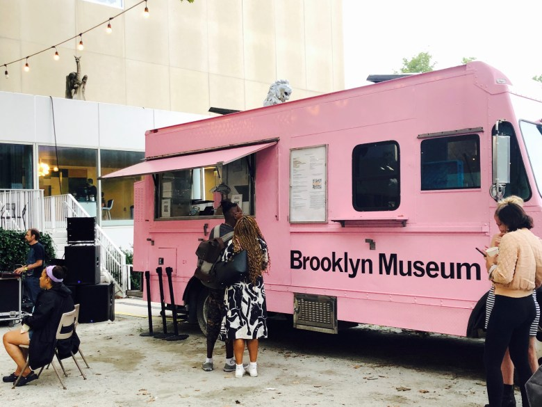 The Brooklyn Museum's very own food truck. Photo: Miranda Levingston for the BK Reader.