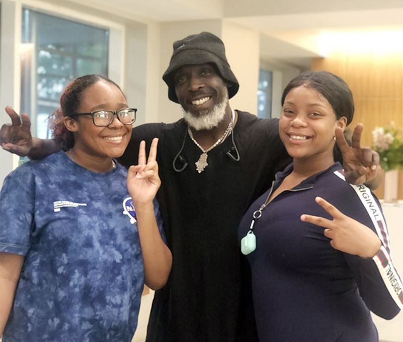 'The Wire' actor Michael K. Williams worked hard, far from the cameras, to improve NYPD-community relations